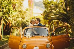Fiat 500, Sorrento Wedding, Italy Wedding, ARJ Photography