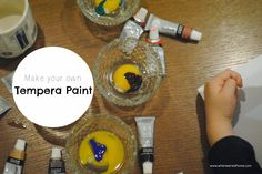 Make Your Own Tempera Paint!