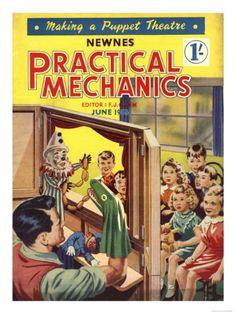 Practical Mechanics, Puppets Shows Magazine, UK, 1950