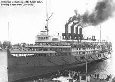 The fabulous interiors of the Great Lakes steamer Seeandbee rivaled those of her ocean-going counterparts.