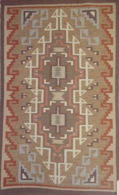 Native American Hand Woven Navajo Rug/Weaving, Circa 1980 90, #846