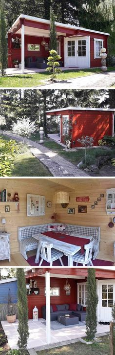 Discover recipes, home ideas, style inspiration and other ideas to try. Shabby Chick, Sweet Home, Real Estate, Small Houses, Luxury, Garden Ideas, Decorations, Inspiration, Home Decor