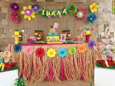 Aloha Party, Luau Theme Party, Hawaiian Luau Party, Hawaiian Birthday, Luau Birthday, Tiki Party, Flamingo Party, Flamingo Birthday, Moana Party