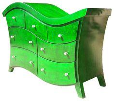 Wave dresser - modern - dressers chests and bedroom armoires - jacksonville - Paravan Wood Design