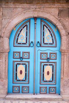 Porte du souk de Tunis