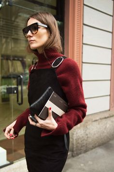 See All the Best Street Style from Milan Fashion Week: Giorgia Tordini Street Style Chic, Looks Street Style, Looks Style, My Style, Milan Fashion Weeks, Paris Fashion, Street Fashion, Japan Fashion, Mode Outfits