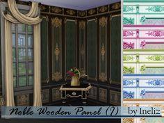 Ineliz's Noble Wooden Panel (I)