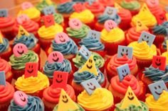 Mister Maker cupcakes