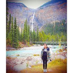 【__alicebaby__】さんのInstagramをピンしています。 《🌲🌲🌲 This is my second waterfall in Canada🇨🇦 カナダで最大級の落差254mのタカカウ滝☄💫 タカカウは先住民族の言葉で素晴らしい、壮大って意味なんだって🕵💡 もう少し近付いてみましょうか🔍 #タカカってきました #takakkawfalls #waterfall #forest #view #nature #wildlife #outdoor #adventure #canada #canadalife #banff #banfflife #nationalpark #workingholiday #タカカウ滝 #滝 #森 #自然 #景色 #冒険 #アウトドア #カナダ #カナダライフ #バンフ #バンフライフ #ワーキングホリデー #ワーホリカナダ #海外》