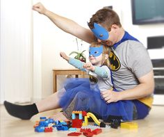 It's not who I am underneath but what I do that defines me. What super hero secrets are you sharing with your kids?
