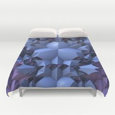 In the Evening Duvet Cover by Lyle Hatch