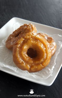 Not So Humble Pie: Pumpkin Old Fashioned Donuts