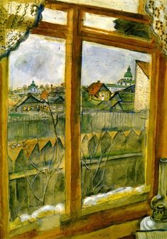 View from a Window, Marc Chagall