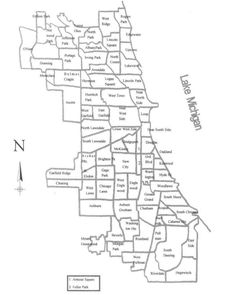 Map of route from atlantic ocean to mississippi river google map of chicago ethnic neighborhoods 1900 google search sciox Gallery