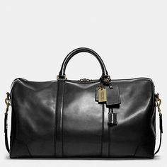 COACH Mens Travel | Bleecker Cabin Bag In Leather