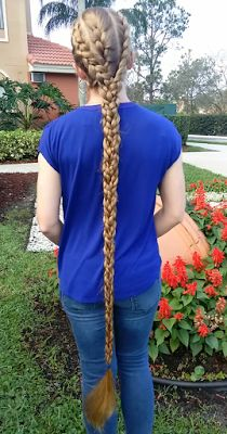 Braids & Hairstyles for Super Long Hair: 3x3 Braid~ twinning with Haartraum