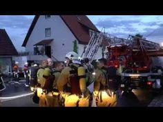 Dachstuhl-Brand Sennfeld - Reichelshof 06.07.2017