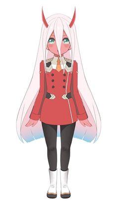 Daily dose of ZeroTwo (EoTo Edition) Fanarts Anime, Anime Chibi, Anime Characters, Manga Anime, Roblox Guy, Anime Shop, Anime Zero, Pink Wallpaper Anime, Loli Kawaii