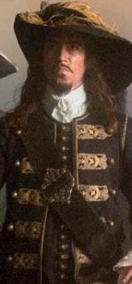 "Oscar Jaenada ""The Spaniard"" (Pirates of the Caribbean - On Stranger Tides"")"