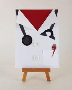 Medical School Graduate - Doctor, Physician card - Medical Student - White coat ceremony - Nursing School / RN Nurse - Personalized…