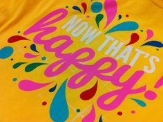 If you are happy and you know it where this shirt!  www.visualimp.com