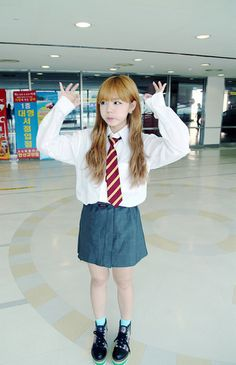 School Uniform Fashion, School Uniform Girls, Girls Uniforms, Cute Korean, Korean Girl, School Girl Dress, Schoolgirl Style, Sailor Fashion, School Looks