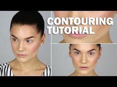 Contouring tutorial (with subs) - Linda Hallberg Makeup Tutorials - YouTube