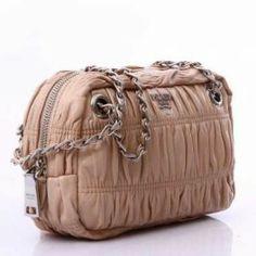 52edad62581e ... clearance prada gaufre leather evening shoulder bag bt0802 dusty pink  eshoppedeals f5f39 7e424