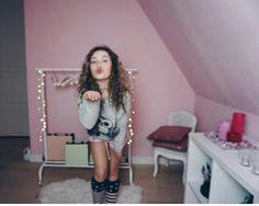 Ze moet echt model worden wauw!!!!