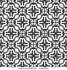 Seamless black and white abstract texture. Endless pattern with lines for prints, textiles, wrapping, wallpaper, website, blog etc. Vector illustration.