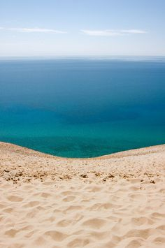 No need to go to Hawaii or anything...my  Power Spot  Sleeping Bear Sand Dunes