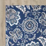 <strong>Tremont Blue Area Rug</strong> by Andover Mills