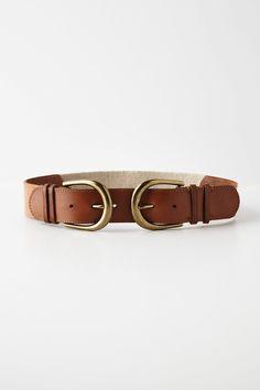 Reflected Buckle Belt - Anthropologie.com