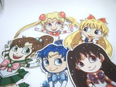 Sailor Moon Magnets