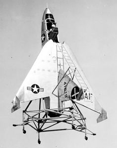 X-13 RYAN COMPANY - VERTIJET - 1953 - HUMMINGBIRD - 3