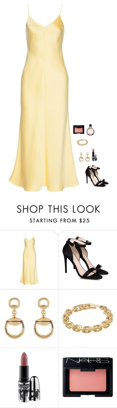 """Untitled #702"" by h1234l on Polyvore featuring The Row, STELLA McCARTNEY, Gucci, Calvin Klein, MAC Cosmetics, NARS Cosmetics and Jimmy Choo"