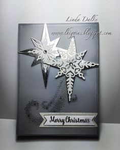 Linda Higgins: 2016 Holiday catalogue Sneak Peek No. 2.... Star of Light Bundle in Vellum and Silver