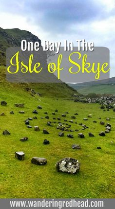 Isle of Skye, Scotland is a pain in the a$$ to get to but SO special.