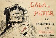 Gala Peter, le premier des chocolats au lait suisse
