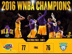 Los Angeles Sparks Page Liked · 20Oct2016 · Sparks WIN!!! 2016 @WNBA Champions!!! #WeRise #ComeWatchUsWork #GoSparks