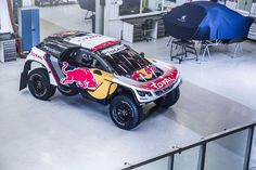 The all-new Peugeot 3008 DKR is ready to roll © Flavien Duhamel/Red Bull Content Pool