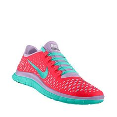 Colorful Nike Workout Shoes for Women.  Color is IN!