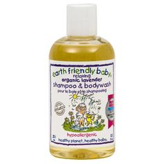 Earth Friendly Baby Organic Shampoo/Bodywash, Lavender, - Ounce Bottle by Earth Friendly Baby Earth Baby, Travel Systems For Baby, Soothing Baby, Baby Skin Care, Organic Shampoo, Baby Shampoo, Lavender Scent, Organic Plants, Organic Baby
