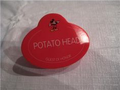 Disney Potato Head Guest of Honor Name Tag WDW Part | eBay