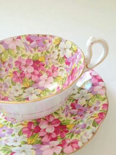 Hermosa taza para té
