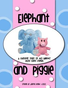 84 pages of FUN learning with my favorite Mo Willems' characters! Elephant and Piggie Pack {Supports the Common Core} Reading Activities, Teaching Reading, Fun Learning, Student Teaching, Reading Skills, Education And Literacy, Kindergarten Literacy, Mo Willems, First Grade Reading
