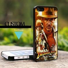MQL0202 Indiana Jones Crusade - For iPhone 5 Case, Hard Cover
