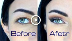 make up Hooded Downturned Droopy Eyes Makeup Tutorial Droopy Eye Makeup, Makeup For Downturned Eyes, Pink Eye Makeup, Dramatic Eye Makeup, Eye Makeup Steps, Colorful Eye Makeup, Eye Makeup Art, Makeup For Green Eyes, Natural Eye Makeup