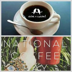 Happy National Coffee Day Everyone. #love #coffee #jewelry #fashion #accessories #style #beautiful #sparkle #chloeandisabel anitabeganovic.chloeandisabel.com