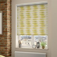 Choices Reverie Spring Green Roller Blind